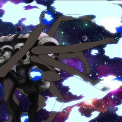 Ashtanga throwing planets