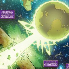 Annihilation Wave's Planet Killer (Earth-616, Divergent Timeline)