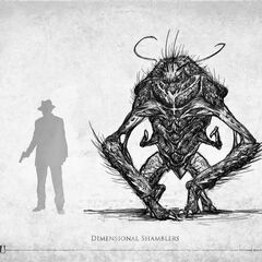 Dimensional Shambler (Call of Cthulhu, French version)