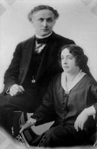Harry Houdini and his wife