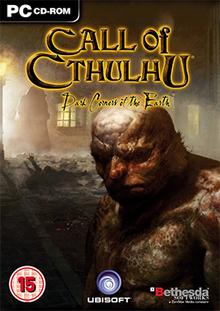 Call of Cthulhu - Dark Corners of the Earth Coverart