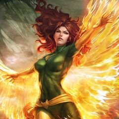 The Phoenix Force (Jean Grey)