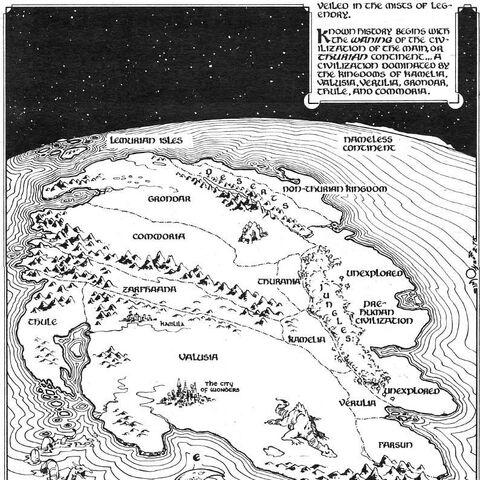 Thurian Super Continent