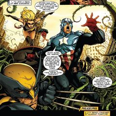 Killer Vegetation (Mighty Avengers Vol 1 21)