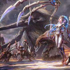 Kerrigan and the Zerg