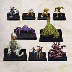 Monster Figures Wave Three