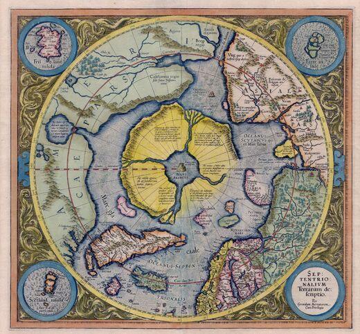 Mercator Septentrionalium Terrarum descriptio