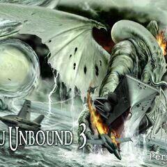 Cthulhu battling US Navy (Cthulhu Unbound 3)