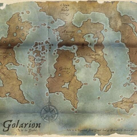 Map of Golarion