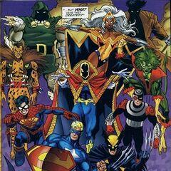 Amalgam Universe (Merged DC-Marvel)