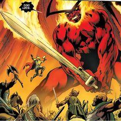 Surtur the Fire Giant (Ruler of Muspelheim)
