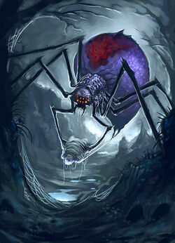 Giant spider by scottpurdy-d2y8aba