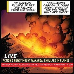 Falling Pillars of Fire (Mighty Avengers Vol 1 21)