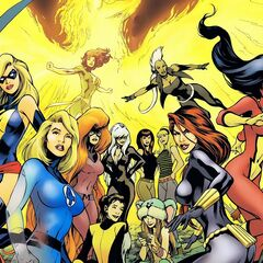 Female Superheroes & Mutants