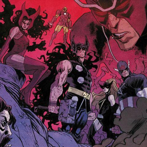 The Revengers (corrupted Avengers)