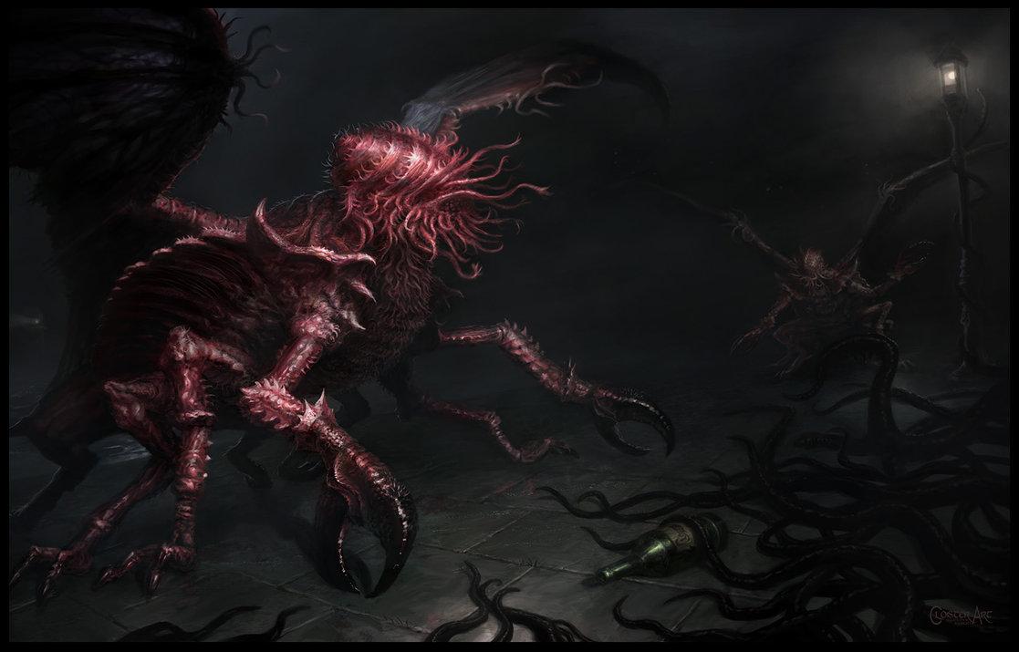 Mi Go The Hp Lovecraft Wiki Fandom Powered By Wikia