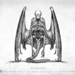 Nightgaunt (Call of Cthulhu, French version)