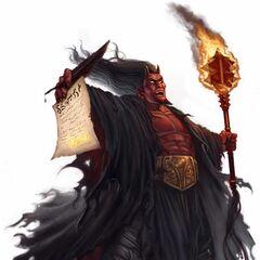 Asmodeus, the Prince of Darkness