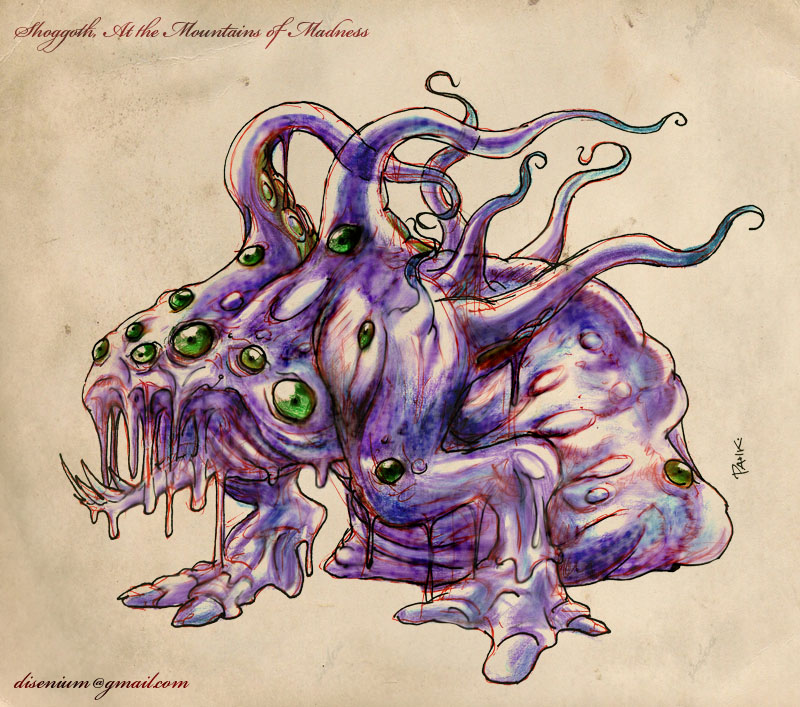 Shoggoth by pahko