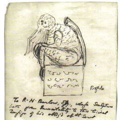 Lovecraft's drawing
