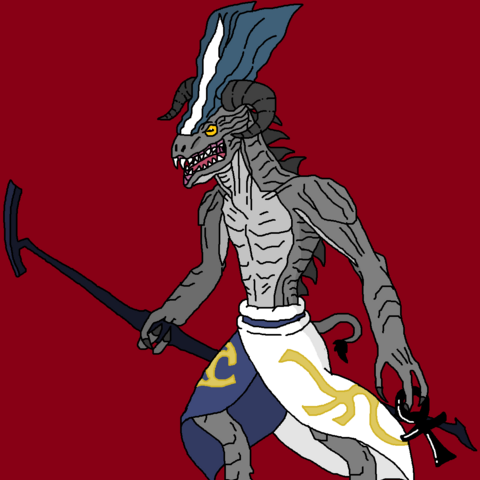 Ryuga Boumera's interpretation of Amon-Gorloth