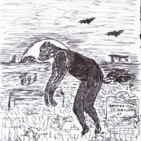 Lovecraft's own illustration