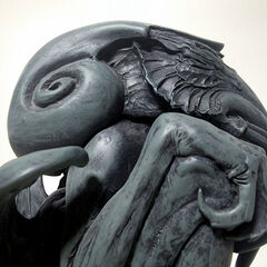 Stephen Hickman's sculpture of Cthulhu
