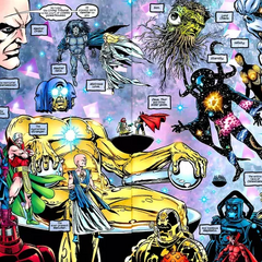 Living Tribunal & the Cosmic Aspects