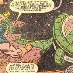 Jormungand the Midgard Serpent