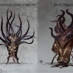 Shub-Niggurath & Dark Young (Call of Cthulhu, French version)