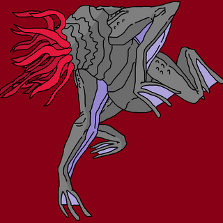 Ryuga Boumera's interpretation of a Moon-Beast