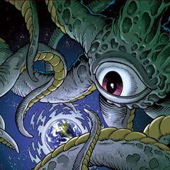 Shuma-Gorath, the Devourer-God of the Eternal Ever-Was (Ruler of the Many-Angled Ones)