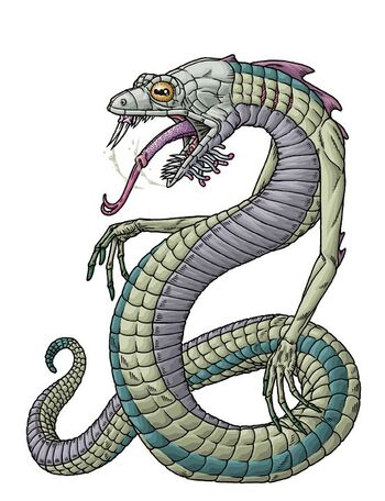 H P Reptiles Yig | The H.P. ...