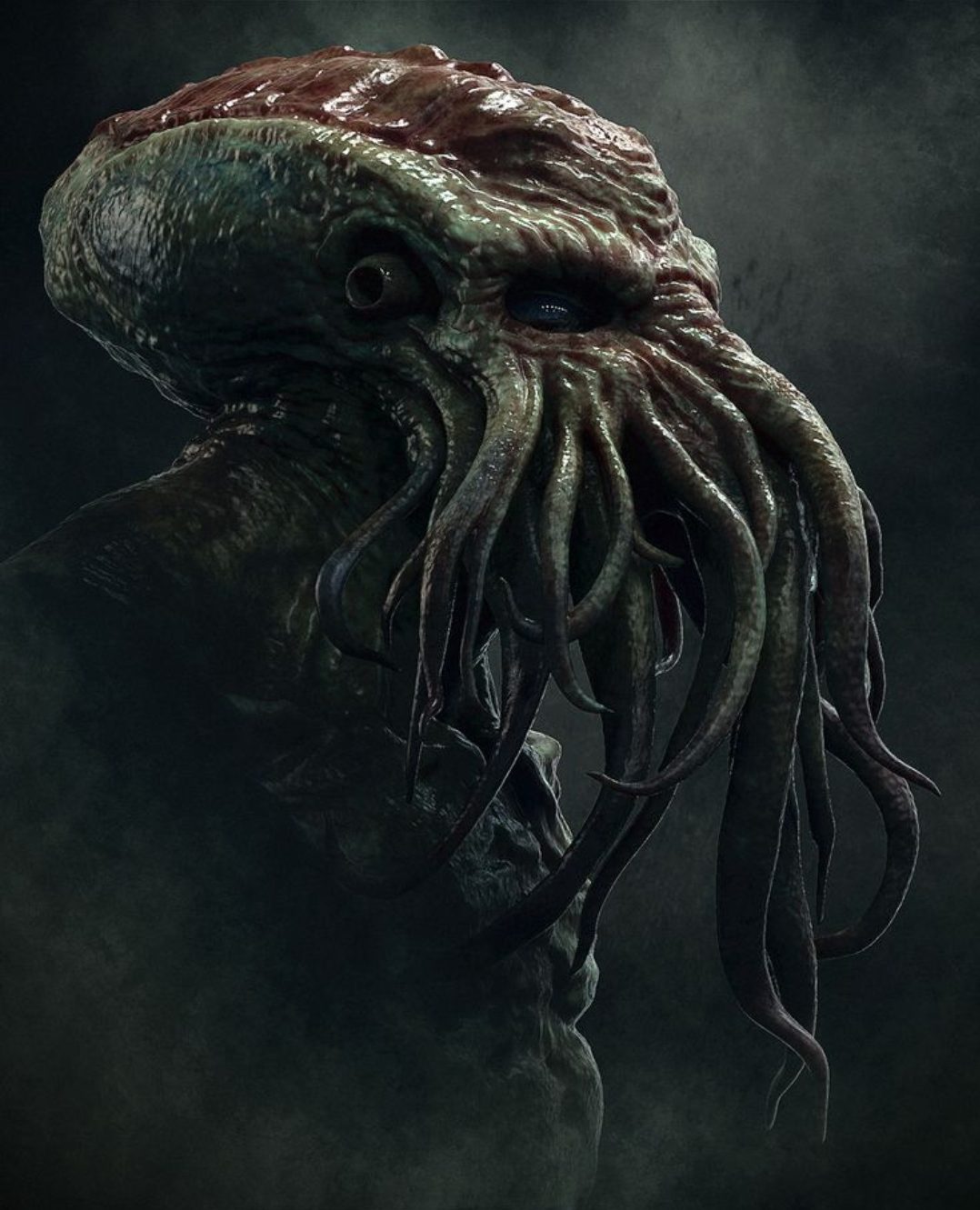 Cthulhu | The H P  Lovecraft Wiki | FANDOM powered by Wikia