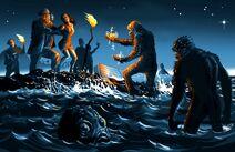 Лавкрафт-Lovecraft-art-тень-над-иннсмаутом-риф-дьявола-2317936