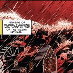 City Flooded by Blood (Mighty Avengers Vol 1 21)