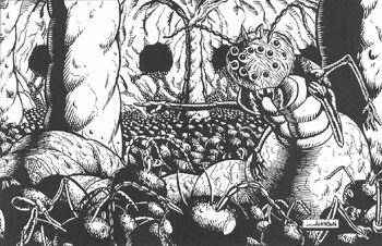 The Hive Queen (Palladium)