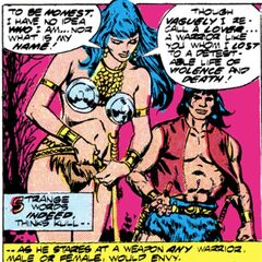 Laralei (Kull's lover, warrior woman)