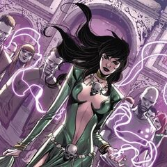 Morgan le Fay (1,400 yr old Sorceress)