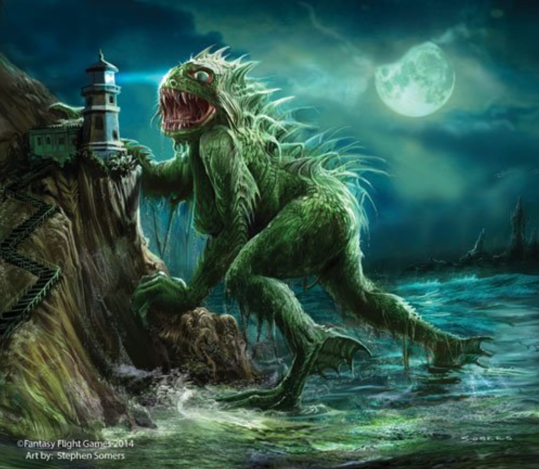 Image result for picture of hp lovecraft dagon