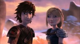 Hiccup & Astrid S4 Finale (Race to the Edge)