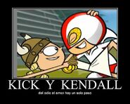 Kick Buttowski and Kendall Perkins 892922988292