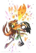 Teen Titans Robin and Starfire 929292020
