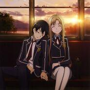 Asuna & Kirito Poster (20)