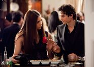 Elena & Damon S1 Promotional Pic