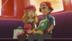 Serena and Ash's 1st Date (2)