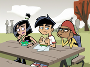 Danny Fenton Sam Manson and Tucker Foley 91224500