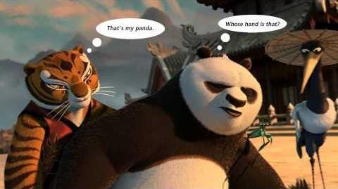 Po and Tigress - The togetherness - Kung Fu Panda Fan Art