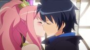 Louise and Saito Kiss S4E4