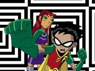 Teen Titans Robin and Starfire 839393932